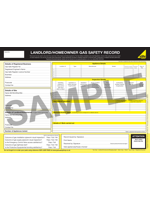 Trinity Gas - Gas Safety Certificate Sample